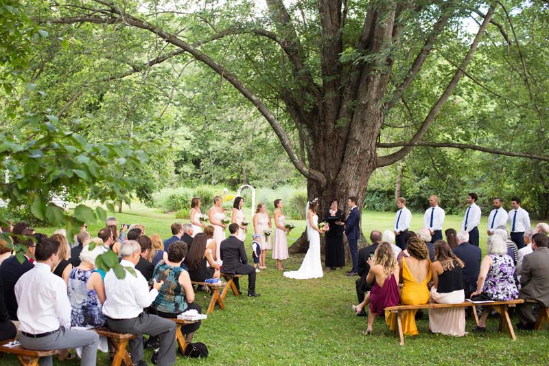 Vermont Wedding Barrows House